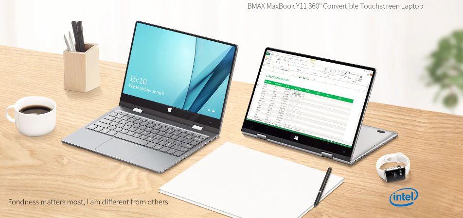 Codice Sconto BMAX Y11 a 270€, Ultrabook cinese per la Portabilità