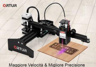Codice Sconto Ortur Laser Master a 149€, un ottimo Incisore per legno Low Cost