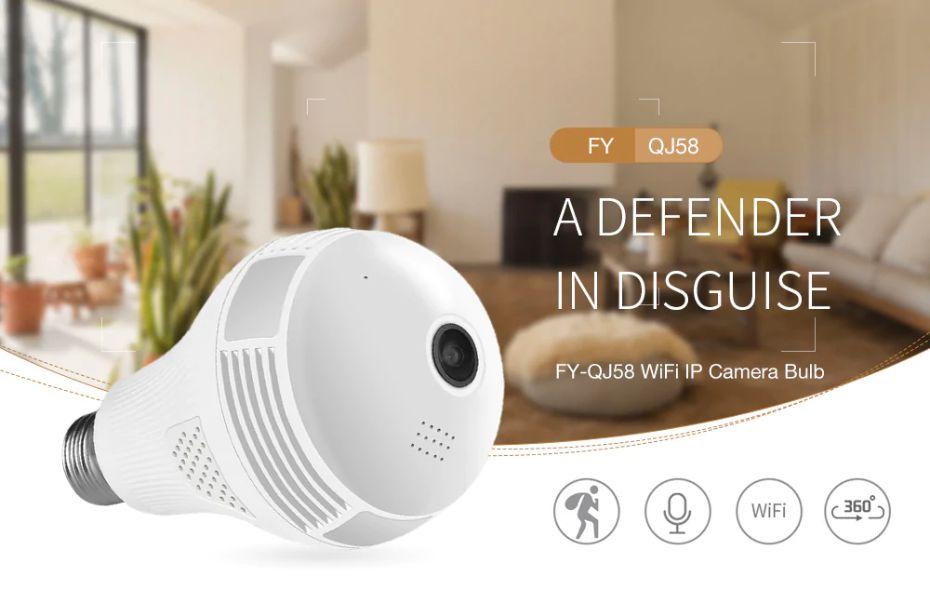 La-miglior-telecamera-Spia-5 La miglior telecamera Spia da non Nascondere! FY-QJ58 360 gradi