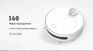 Offerta Aspirapolvere Robot 360 S6 a 249€, spedizione veloce da Europa