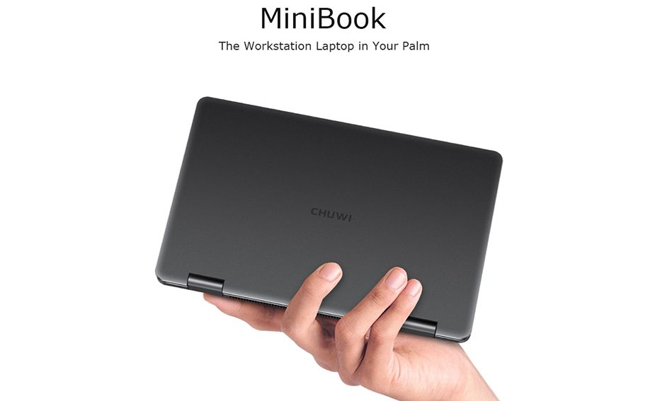 Offerta CHUWI MiniBook 360 a 388€, il mini Notebook da 8 Pollici