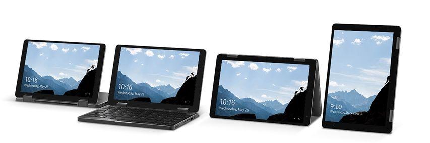 Offerta-CHUWI-MiniBook-360-2 Offerta CHUWI MiniBook 360 a 388€, il mini Notebook da 8 Pollici