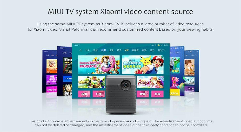 Offerta-Fengmi-M055DCN-5 Offerta Fengmi M055DCN a 424€, Miglior smart proiettore da 120 pollici
