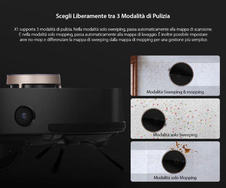 Offerta-Lenovo-X1-Lidar-LDS-1 Offerta Lenovo X1 Lidar LDS a 397€, l'aspirapolvere robot ad Acqua silenzioso