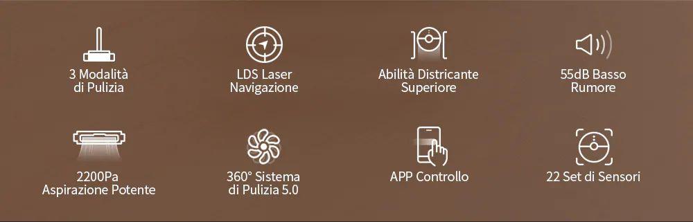 Offerta-Lenovo-X1-Lidar-LDS-3 Offerta Lenovo X1 Lidar LDS a 397€, l'aspirapolvere robot ad Acqua silenzioso