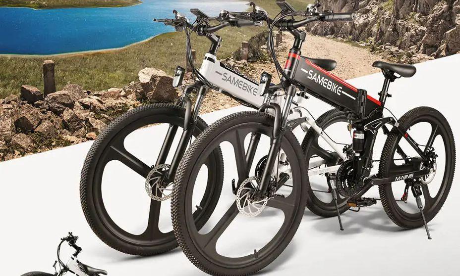 Offerta Samebike LO26 a 677€, la bici elettrica per la Città da 350W