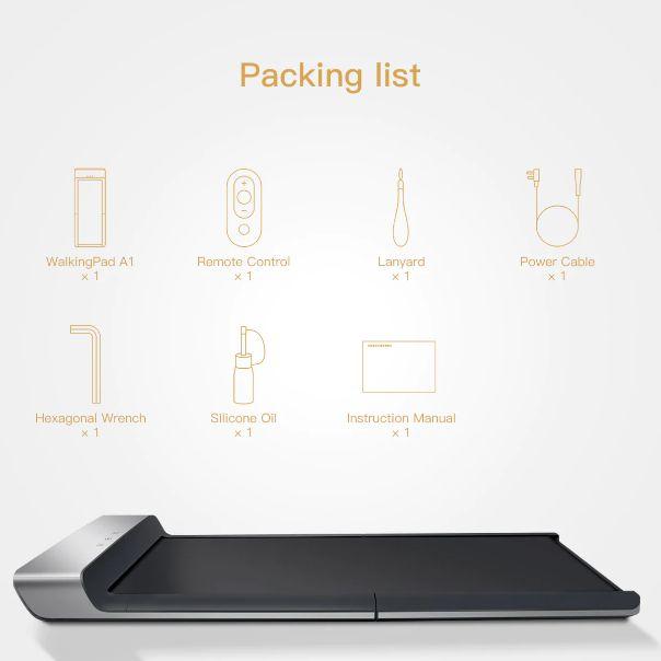 Offerta-WalkingPad-A1-2 Offerta WalkingPad A1 a 361€, il tapis roulant più economico per Casa
