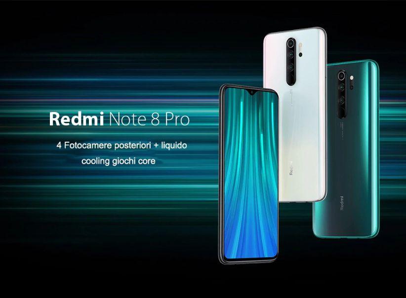 Codice Sconto Xiaomi Redmi Note 8 Pro a 200€, miglior smartphone Fascia Media