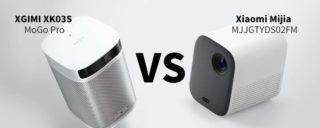 XGIMI XK03S MoGo Pro vs Xiaomi Mijia MJJGTYDS02FM, quale Proiettore Scegliere