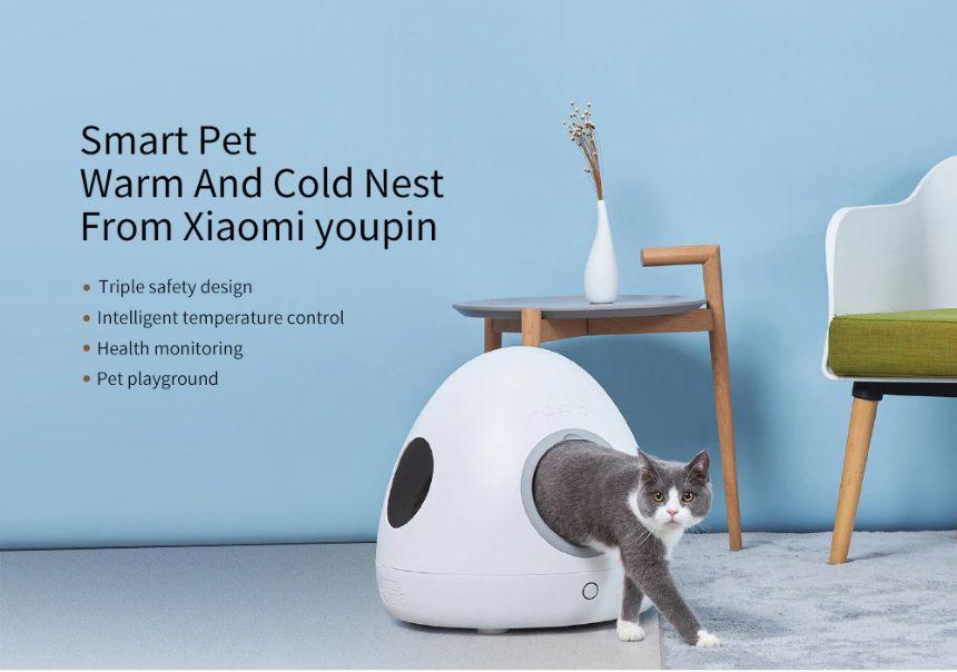 Xiaomi-Cuccia-Riscaldata-5 Xiaomi Cuccia Riscaldata per Cani e Gatti con controllo Temperatura