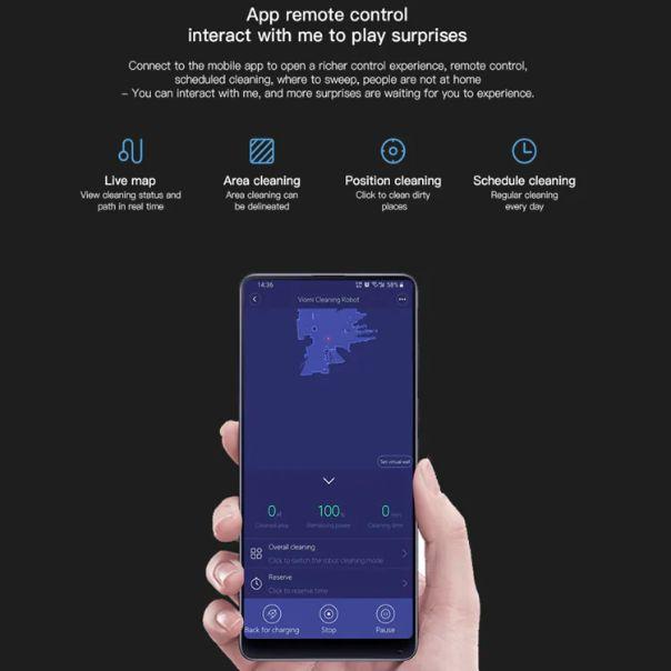 Xiaomi-VIOMI-V2-Pro-3 Xiaomi VIOMI V2 Pro, l'Aspirapolvere Robot completo: Dettagli e Offerte