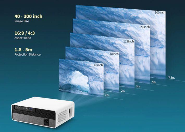 miglior-Proiettore-FullHD-5 Il miglior Proiettore FullHD da 300 pollici: Alfawise Q9, Dettagli e Offerte