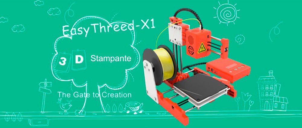 La migliore stampante 3D a 80€: Easythreed X1 per iniziare a stampare in 3D