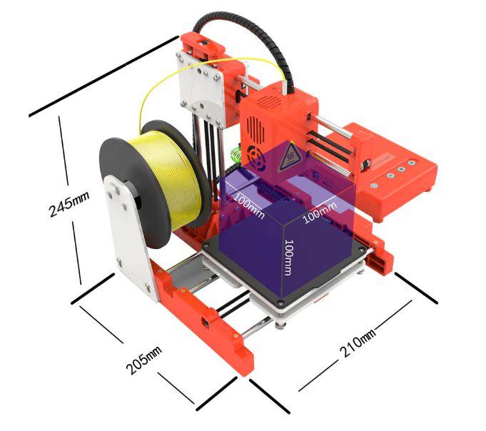 migliore-stampante-3D-a-80%E2%82%AC-3 La migliore stampante 3D a 80€: Easythreed X1 per iniziare a stampare in 3D