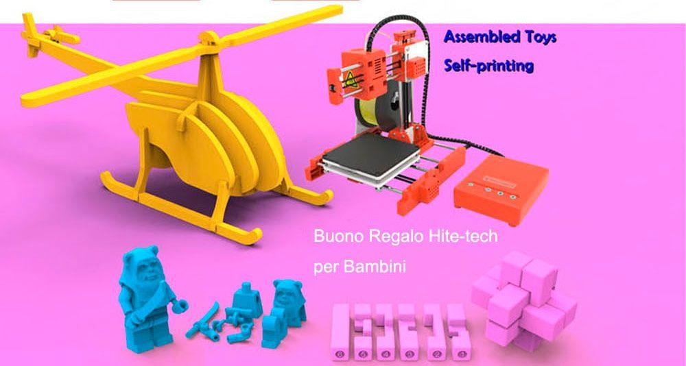 migliore-stampante-3D-a-80%E2%82%AC-4 La migliore stampante 3D a 80€: Easythreed X1 per iniziare a stampare in 3D