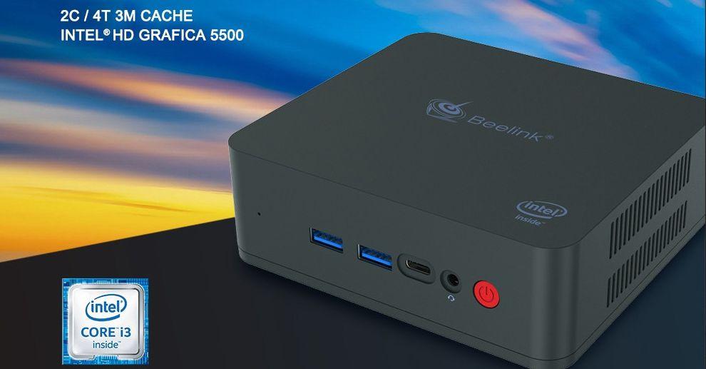 Mini Pc Veloce ed Economico: Beelink U55 con Intel i3