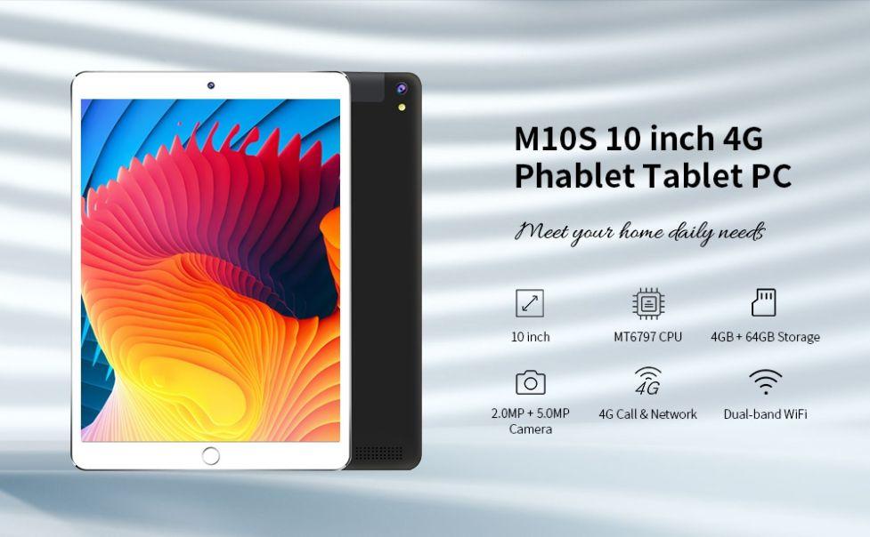 Codice Sconto M10S 10 a 102€, il Tablet cinese ad alte prestazioni