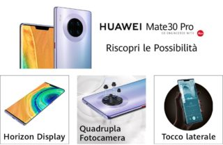 Offerta-HUAWEI-Mate-30-Pro-1-320x209 Xiaomi Mi Note 10, lo Smartphone con 108MP supera la Reflex: Dettagli e Offerte