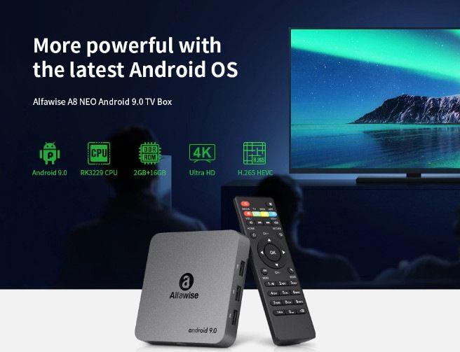 TV Box Alfawise A8, il migliore per qualità-prezzo a 25€: Dettagli e Offerte