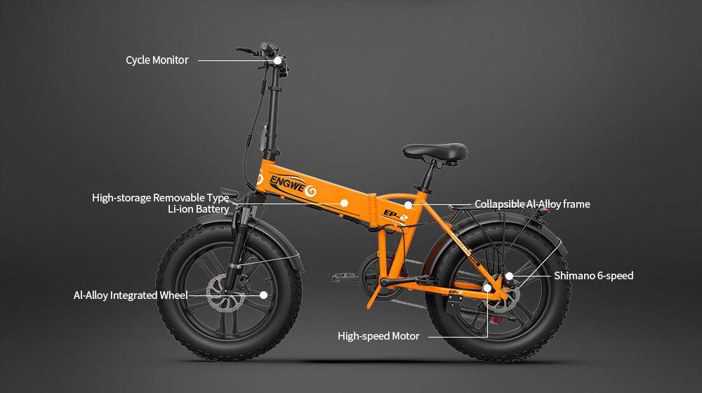 migliore-Fat-Bike-elettrica-del-2020-6 ENGWE EP-2, la migliore Fat Bike elettrica del 2020