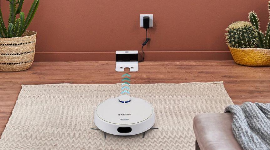 Alfawise-V10-Max-il-miglior-Aspirapolvere-Robot-Economico-3 Alfawise V10 Max, il miglior Aspirapolvere Robot Economico
