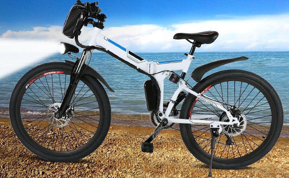 Codice Sconto ANCHEER Bici Elettrica a 623€, da 26 Pollici e Batteria 36V