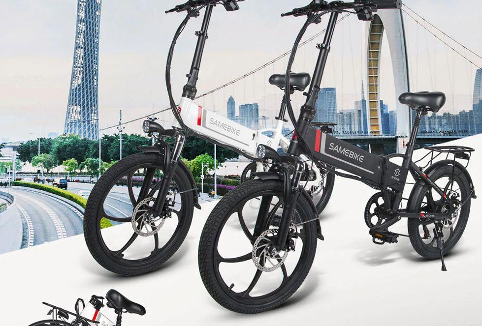 Codice Sconto Samebike 20LVXD30 a 563€, bici elettrica pieghevole