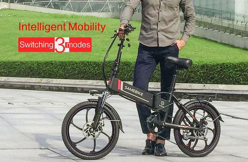 Codice-Sconto-Samebike-20LVXD30-3 Codice Sconto Samebike 20LVXD30 a 563€, bici elettrica pieghevole