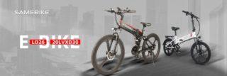 Le migliori Bici Elettriche sono SAMEBIKE! Convenienza e Qualità