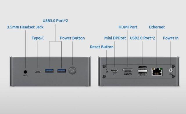 Mini-PC-Potenti-BMAX-5 Mini PC Potenti: BMAX B3 PLUS e BMAX B4 Pro, Dettagli e Offerte