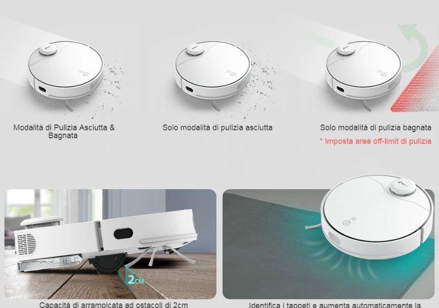 Offerta-360-S6-Pro-1 Offerta 360 S6 Pro + Regalo a 522€, Aspirapolvere Robot 2020