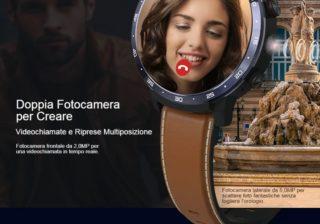 Offerta-OUKITEL-Z32-1-320x224 Offerta OUKITEL Z32 a 123€, nuovo Smartwatch 2020 con 2 Fotocamere