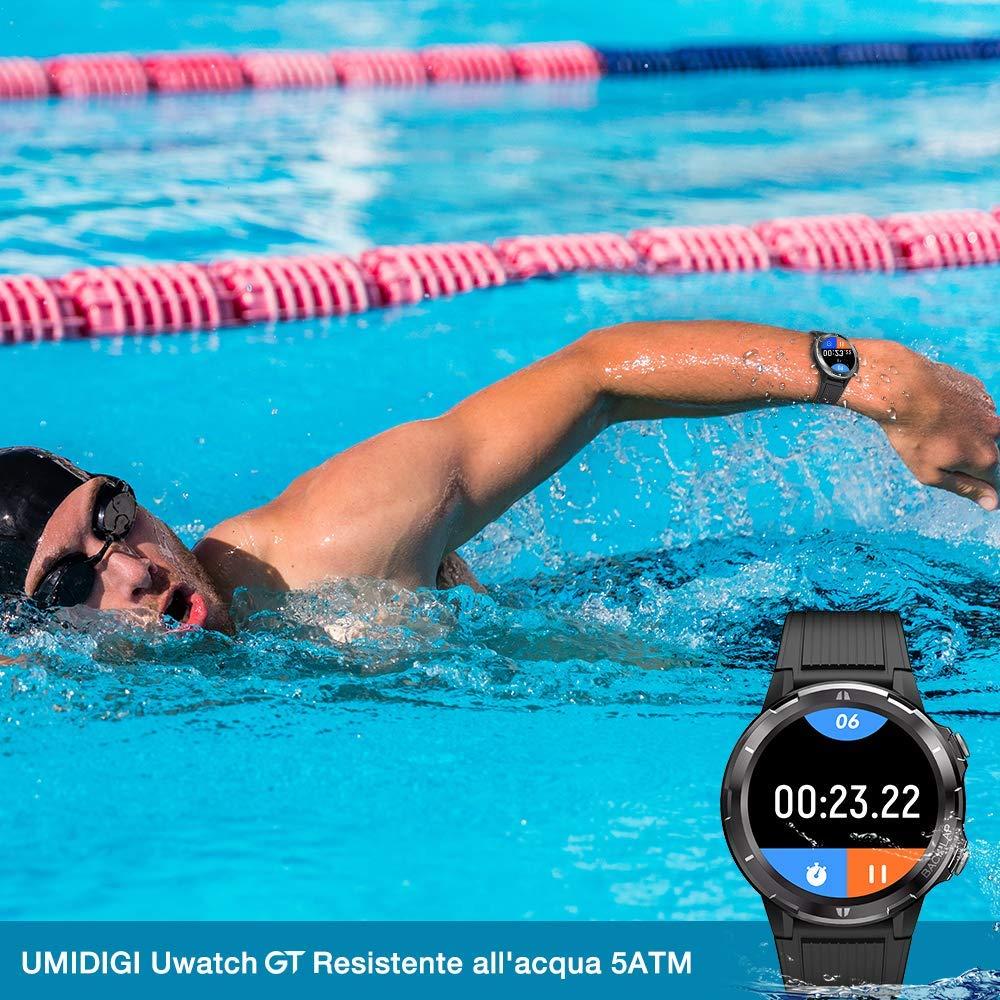 Offerta-UMIDIGI-Uwatch-GT-1 Offerta UMIDIGI Uwatch GT a 39€, Miglior Smartwatch per Fitness