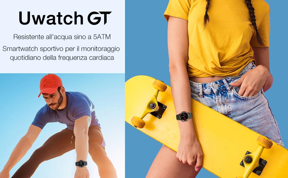 Offerta UMIDIGI Uwatch GT a 39€, Miglior Smartwatch per Fitness