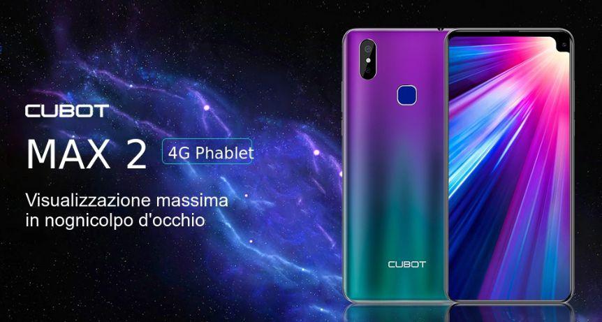 Offerta CUBOT MAX 2 a 113€, miglior smartphone Economico