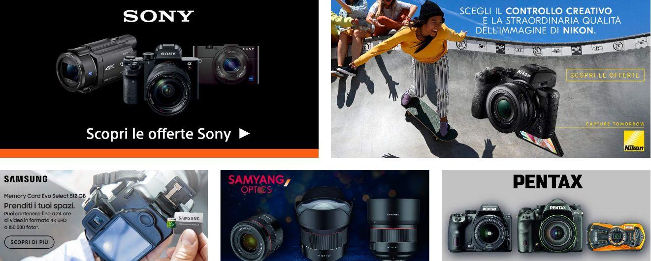 Offerte-Fotografia-Sony-Samsung-Pentax-2 Offerte Fotografia Sony, Samsung, Pentax su Amazon a prezzi bassi