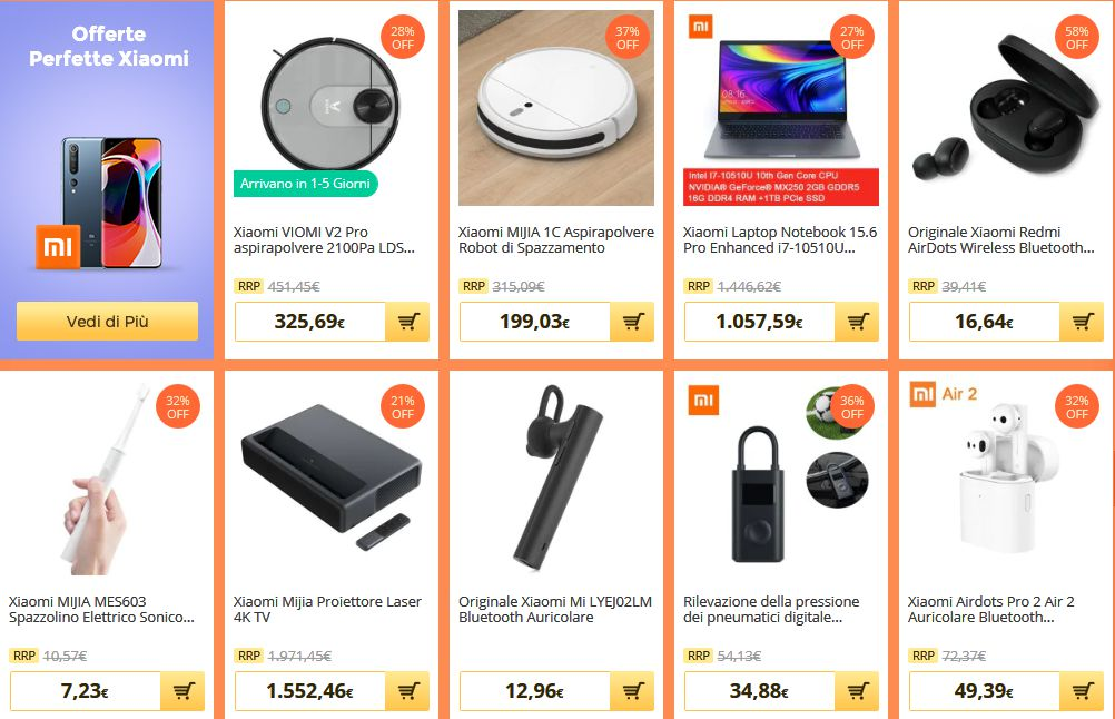 Offerte-Notebook-Cinesi-Smartphone-ed-Elettronica-Marzo-2020-4 Offerte 50% Notebook Cinesi, Smartphone ed Elettronica Marzo 2020