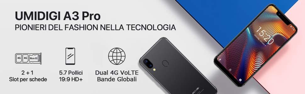 Offerta UMIDIGI A3 Pro a 72€, miglior smartphone economico