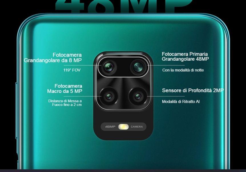 Redmi-Note-9S-3 Offerta Redmi Note 9S a 199€, il nuovo smartphone Xiaomi