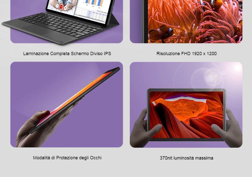 Teclast-T30-il-Tablet-4g-Economico-6 Teclast T30, il Tablet 4g Economico da 10 pollici: Dettagli e Offerte