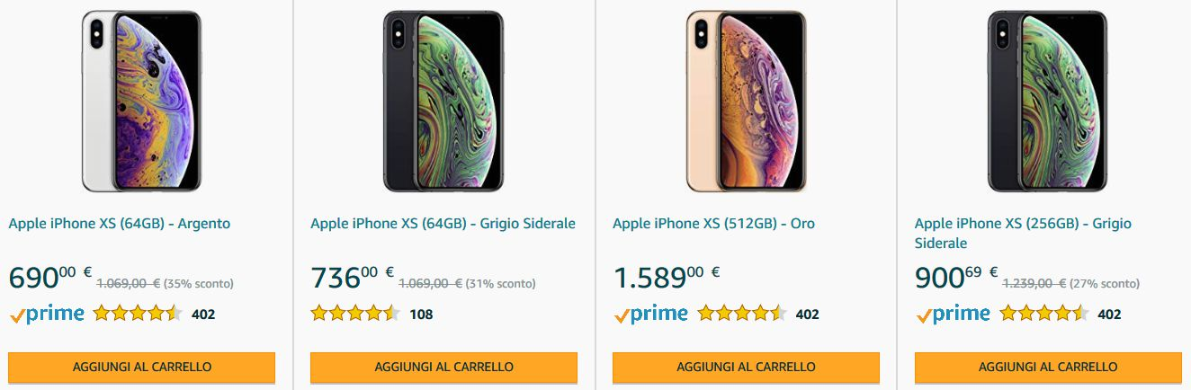 iPhone-X-con-sconti Offerta Smartphone, iPad e accessori Apple, Marzo 2020