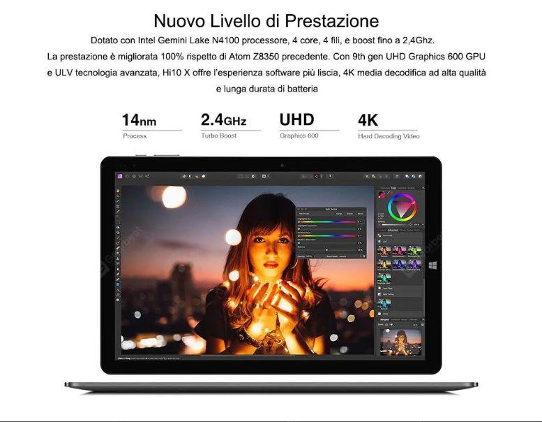 Chuwi-Hi10X-1 Chuwi Hi10X, alternativa a 200€ di Microsoft Surface: Dettagli e Offerte
