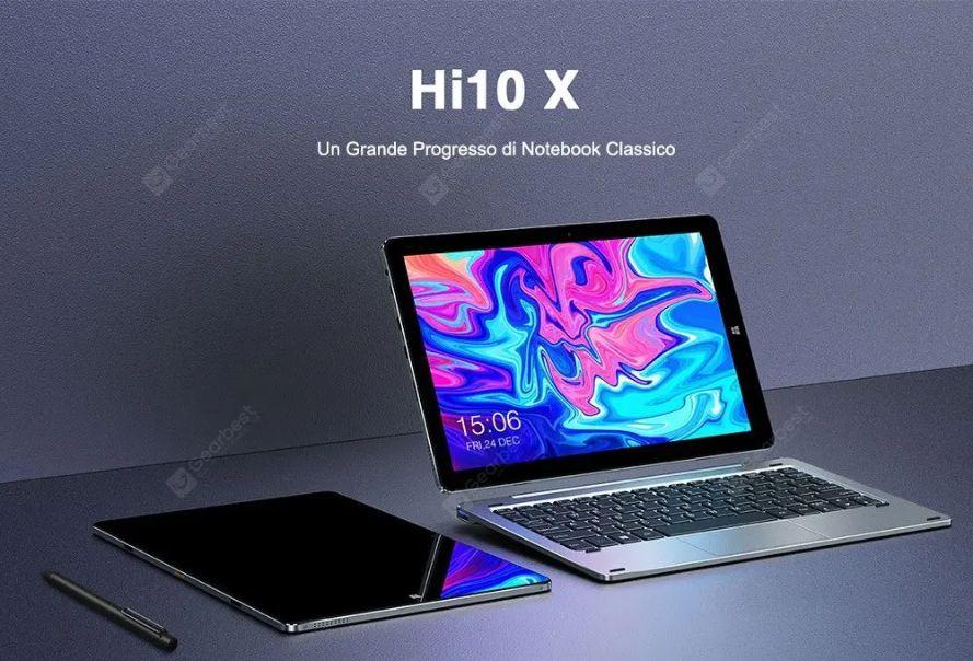 Chuwi Hi10X, alternativa a 200€ di Microsoft Surface: Dettagli e Offerte