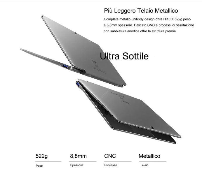 Chuwi-Hi10X-4 Chuwi Hi10X, alternativa a 200€ di Microsoft Surface: Dettagli e Offerte
