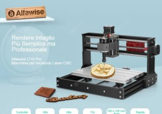 Offerta-Alfawise-C10-Pro-1-320x224 Codice Sconto Alfawise C10 Pro a 179€, Incisore Laser