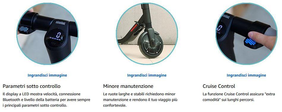 Offerta-Ninebot-Segway-ES1-2 Offerta Ninebot Segway ES1 a 299€, il Monopattino Super Economico