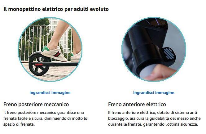 Offerta-Ninebot-Segway-ES1-3 Offerta Ninebot Segway ES1 a 299€, il Monopattino Super Economico