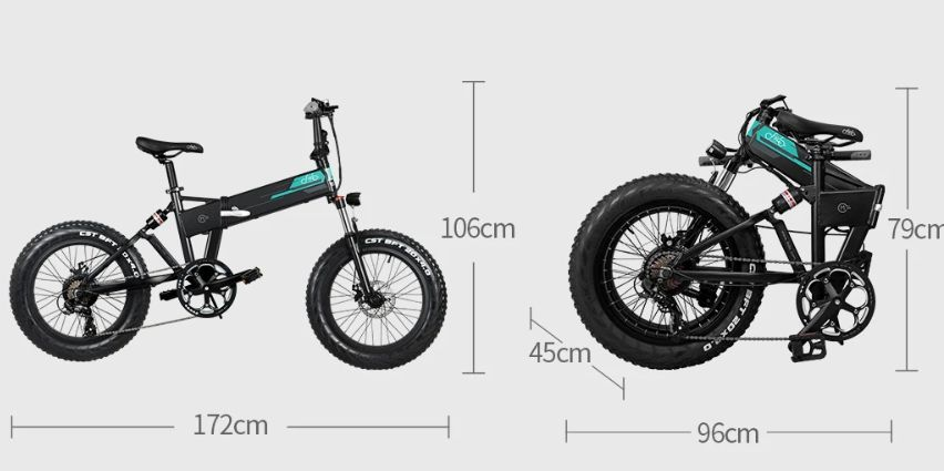 Offerta-FIIDO-M1-1 Offerta FIIDO M1, la Nuova Fat Bike pieghevole 2020