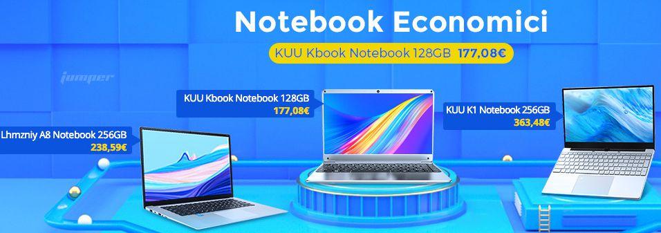 Offerta Notebook Economici Maggio 2020, da 177€!