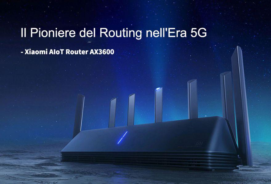 Codice Sconto Xiaomi Router AX3600 a 125€, Wi-Fi 6 del 2020